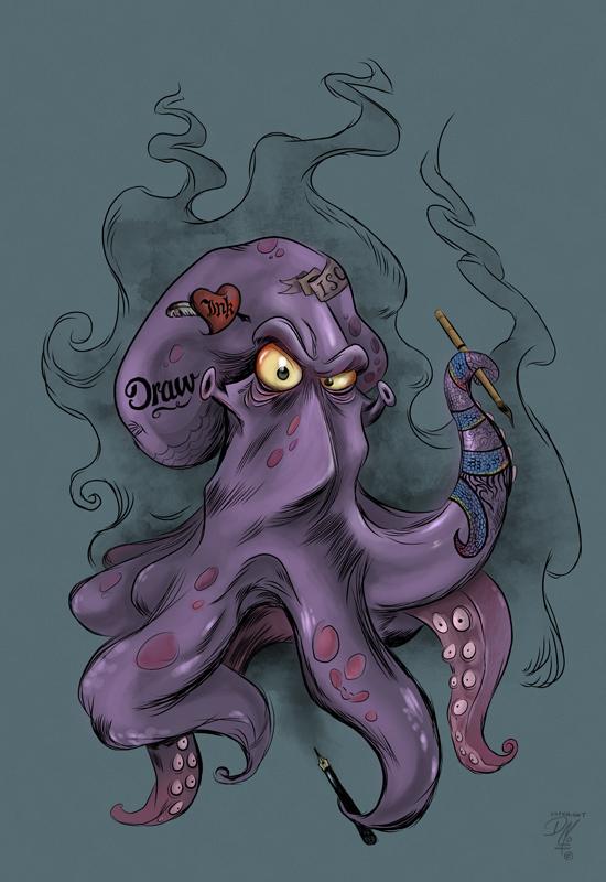Octopus is dangerous!