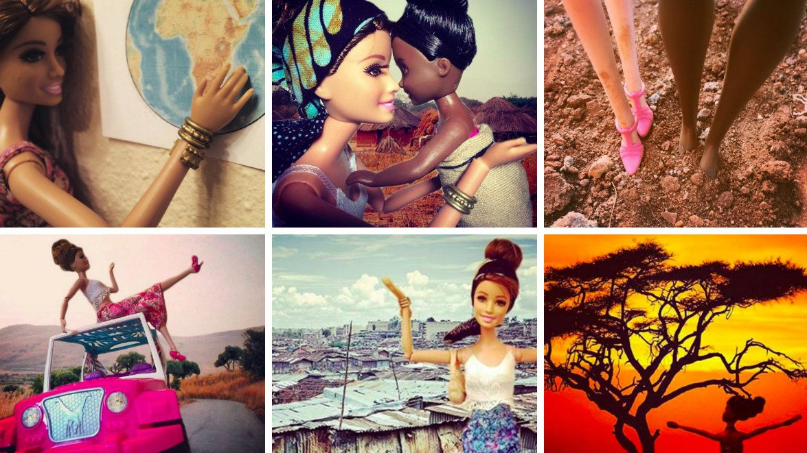 USING #INSTAGRAM FOR GOOD: Using #Barbie to confront #WhiteSaviours in #Africa